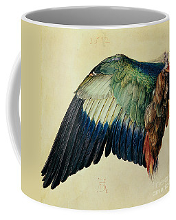 Wing Of A Blue Roller Coffee Mug