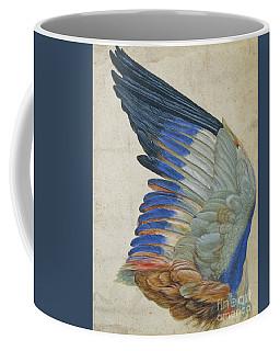 Wing Of A Blue Roller Coffee Mug