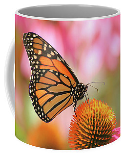 Coffee Mug featuring the photograph Winged Beauty by Doris Potter