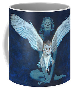 Winged Heart Coffee Mug