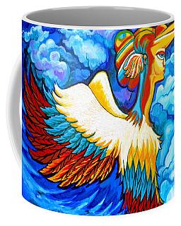 Winged Nike Coffee Mug
