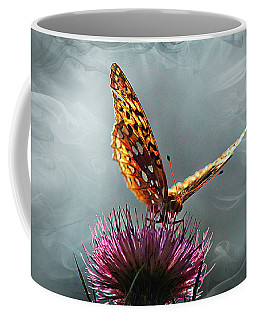 Coffee Mug featuring the photograph Winged Things by Jessica Brawley
