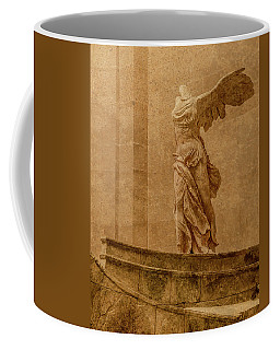 Paris, France - Louvre - Winged Victory Coffee Mug