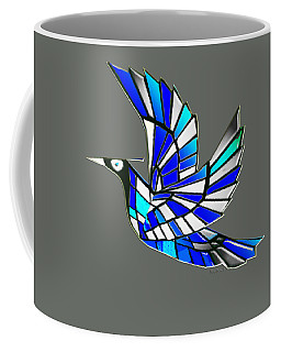 Coffee Mug featuring the digital art Wings by Asok Mukhopadhyay