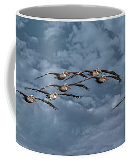 Wings In Formation Coffee Mug