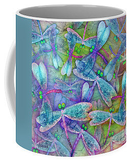 Wings Large In Square Format Coffee Mug by Teresa Ascone