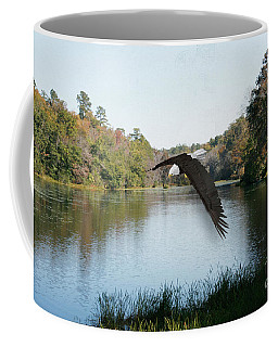 Wings Like Eagles Coffee Mug