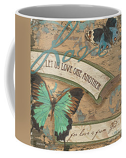Wings Of Love Coffee Mug