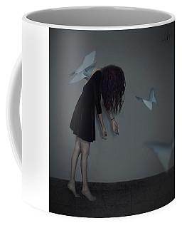 Wings Of Papaer Coffee Mug