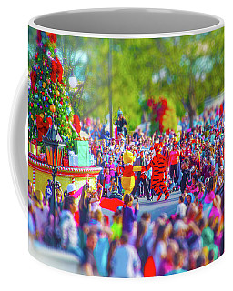 Coffee Mug featuring the photograph Winnie The Pooh And Tigger by Mark Andrew Thomas