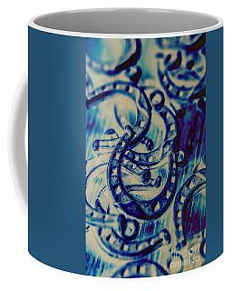 Winning Blue Country Tokens Coffee Mug