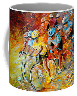 Winning The Tour De France Coffee Mug