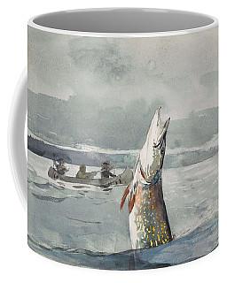 Winslow Homer   Pike  Lake St  John 189 7 Coffee Mug