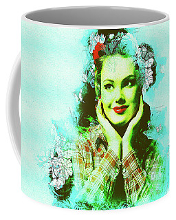 Coffee Mug Featuring The Photograph Winsome Lady 2 By Elena Riim