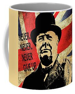 Winston Churchill 2 Coffee Mug