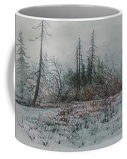 Winter, Alberta Coffee Mug