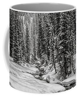Winter Alpine Creek II Coffee Mug