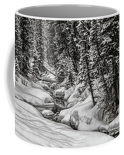 Winter Alpine Creek II Coffee Mug