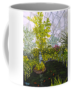 Winter At Allan Gardens Coffee Mug