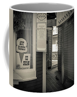 Winter At Aunt Marie's Ice Cream Stand Coffee Mug