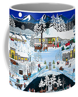 Winter At Black Butte Coffee Mug