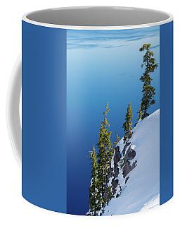 Winter At Crater Lake Coffee Mug