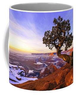 Winter At Dead Horse Coffee Mug by Chad Dutson