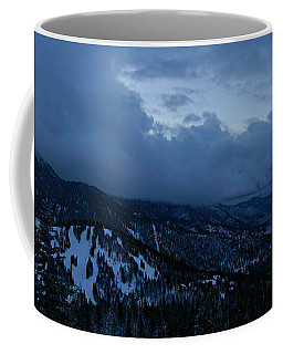 Winter At Diamond Peak Coffee Mug by Sean Sarsfield