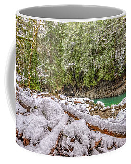 Coffee Mug featuring the photograph Winter At Eagle Falls by Spencer McDonald