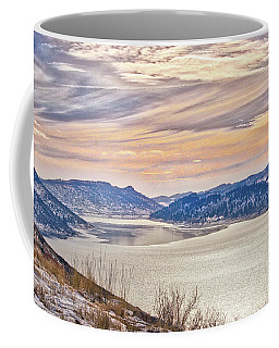 Winter At Horsetooth Reservior Coffee Mug