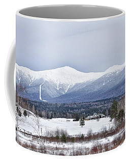 Winter At Mount Washington Coffee Mug by Tricia Marchlik