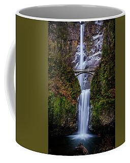 Winter At Multnomah Falls 2 Coffee Mug