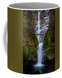 Winter At Multnomah Falls 2 Coffee Mug