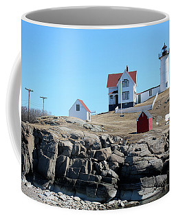 Winter At Nubble Point Coffee Mug
