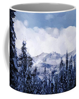 Winter At Revelstoke Coffee Mug