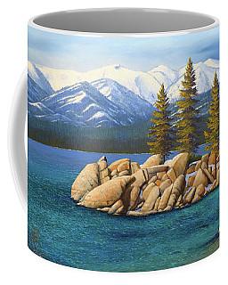 Winter At Sand Harbor Lake Tahoe Coffee Mug