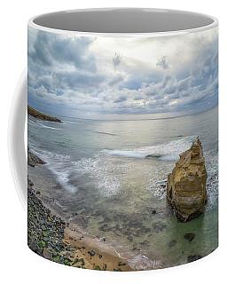 Winter At Sunset Cliffs Coffee Mug by Joseph S Giacalone