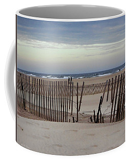 Winter At The Beach Coffee Mug