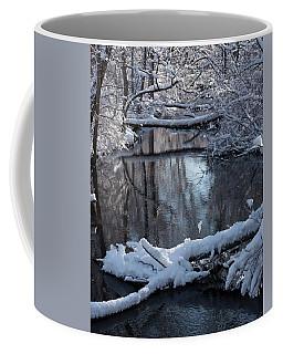 Winter At The Brook Coffee Mug