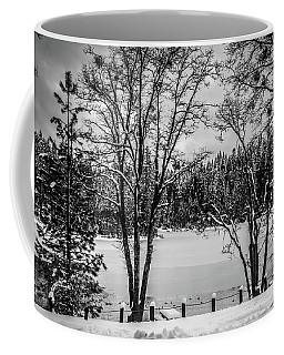 Winter At The Forebay Coffee Mug