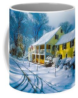 Winter At The Inn Coffee Mug