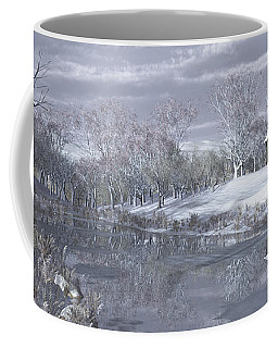 Winter At The Lake Coffee Mug