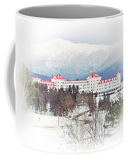 Winter At The Mt Washington Hotel 2 Coffee Mug by Tricia Marchlik