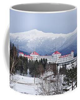 Winter At The Mt Washington Hotel Coffee Mug