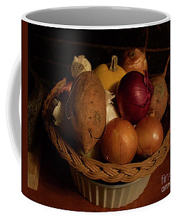 Winter Basket Coffee Mug