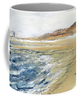 Winter Beach At Race Point Coffee Mug