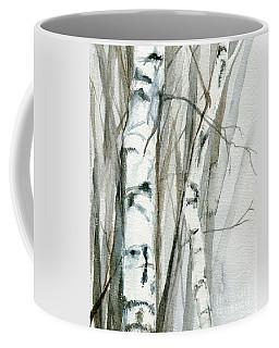 Winter Birch Coffee Mug