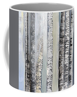 Winter Birches Coffee Mug