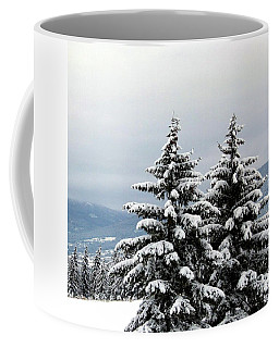 Coffee Mug featuring the photograph Winter Bliss by Will Borden