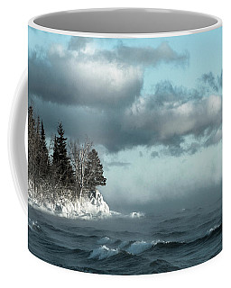 Winter Blues Coffee Mug by Mary Amerman